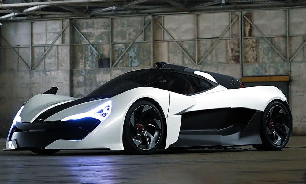 Apex AP-0 EV super sports car