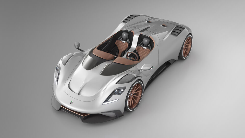 The S1 Project Spyder.. Only 24 vehicles will be produced