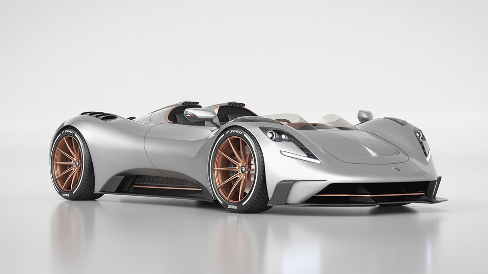 Ares S1 Project Spyder Front Side View