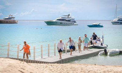 Attendees arriving at the Kata Rocks Superyacht Rendezvous 2018