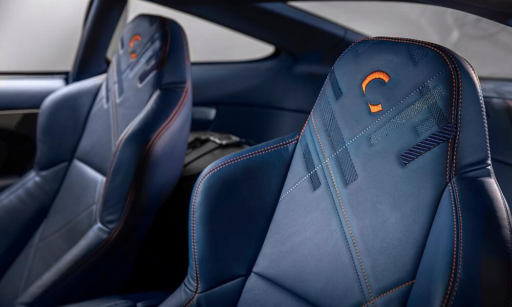 Aston Martin 25 by CALLUM seats detail