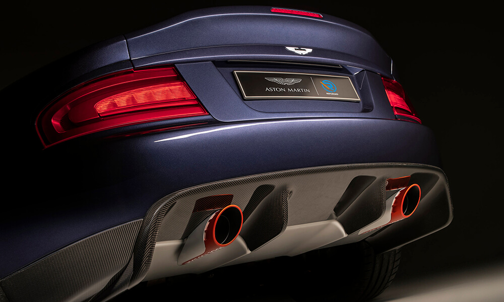 Aston Martin 25 by CALLUM tail lights and rear detail