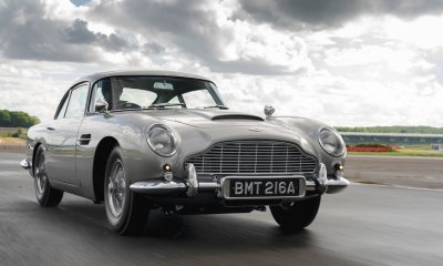Aston Martin DB5 Goldfinger Continuation James Bond Car