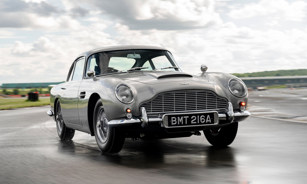 Aston Martin DB5 Goldfinger Continuation Edition. Credit: Aston Martin