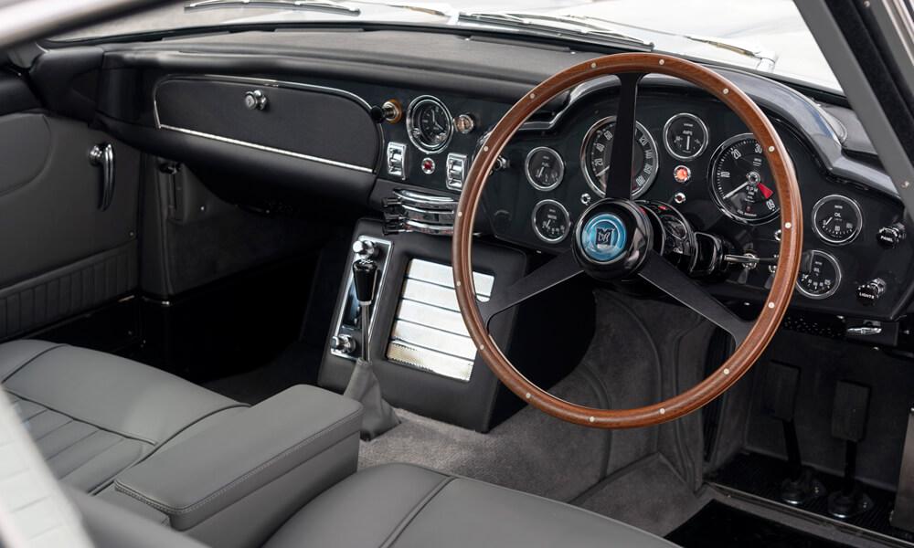 The Aston Martin DB5 Goldfinger Continuation interior. Credit: Aston Martin