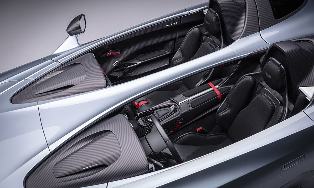Aston Martin V12 Speedster view from above