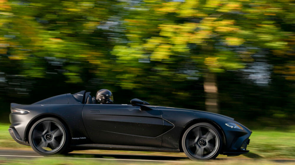 Aston Martin V12 Speedster Prototype Side View