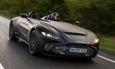 Aston Martin V12 Speedster Prototype Front Side