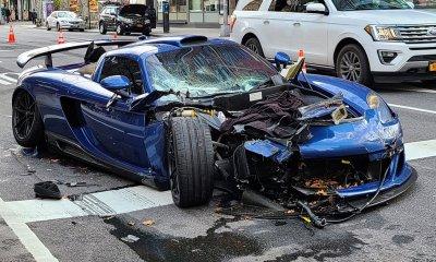 Ben Chen Gemballa Mirage GT Crashes In New York City