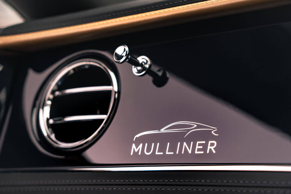 Bentley Continental GT Mulliner Dashboard