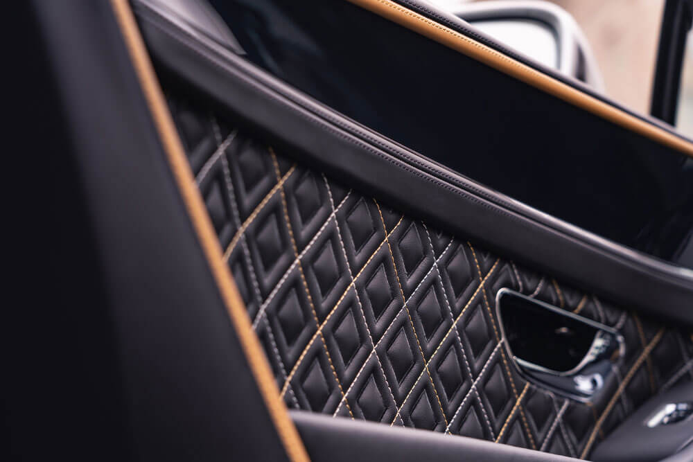 Bentley Continental GT Mulliner Diamond Quilting