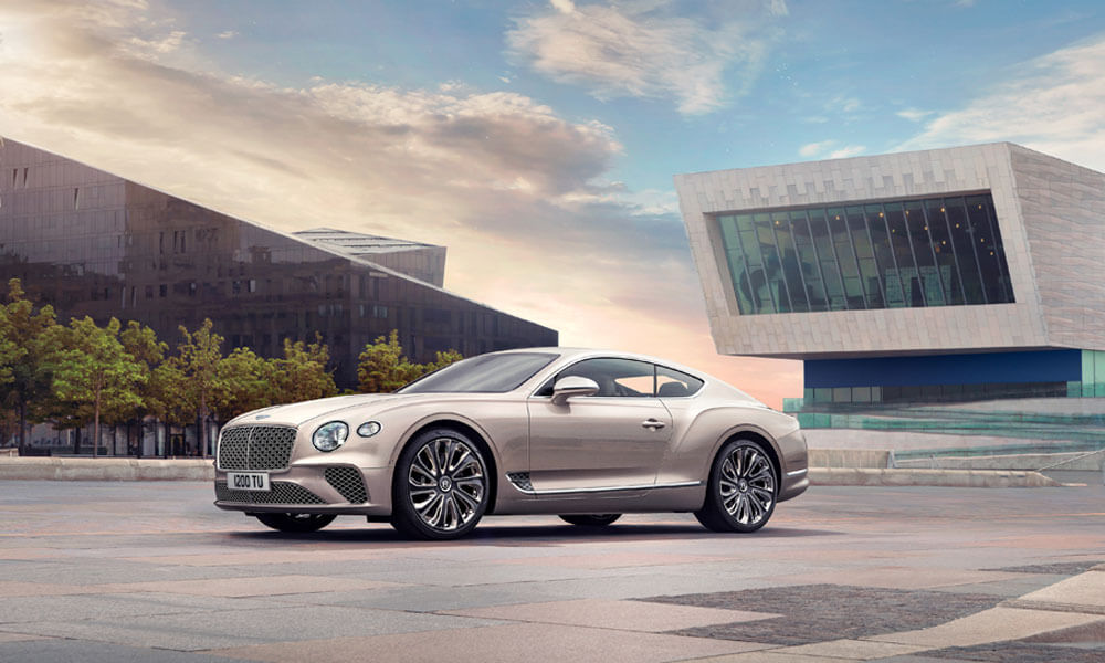The new Bentley Continental GT Mulliner. Credit: Bentley Motors
