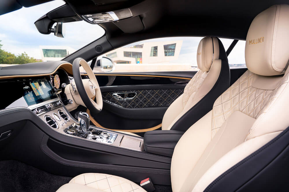 Bentley Continental GT Mulliner Interior Seating