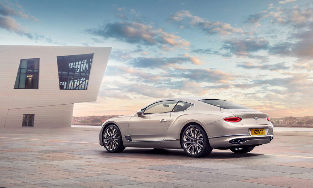 Designed by Bentley's bespoke Mulliner design team