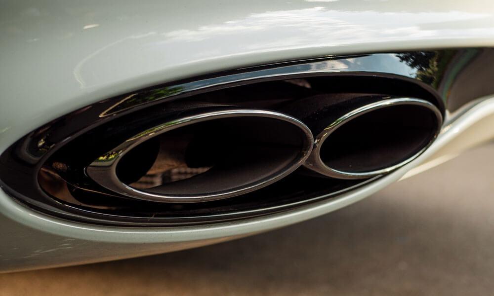 Bentley Continental GT V8 Quad Exhaust Pipes