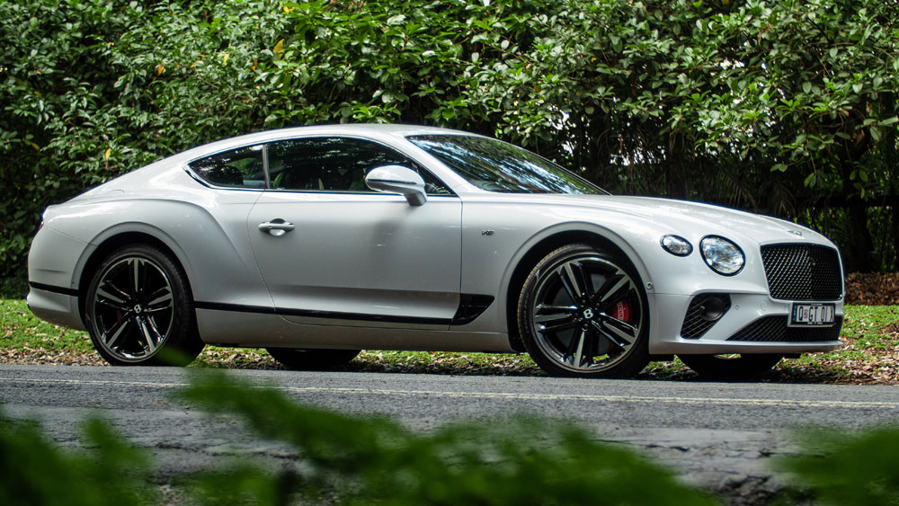 Bentley Continental GT V8 Side View Review
