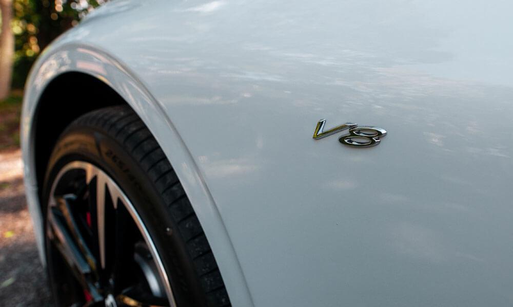 Bentley Continental GT V8 Badging