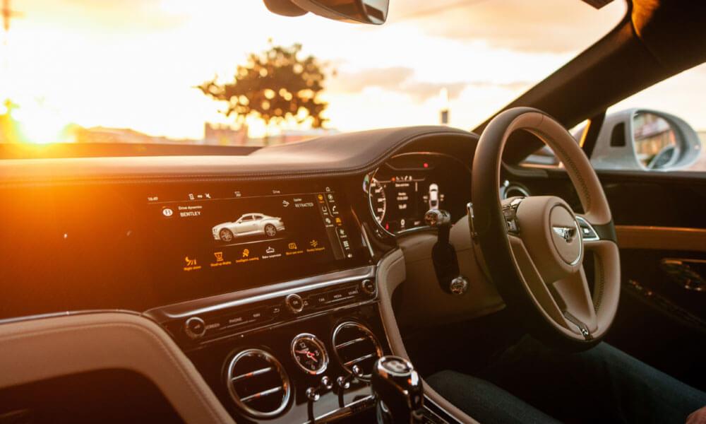 Bentley Continental GT V8 Interior Dashboard