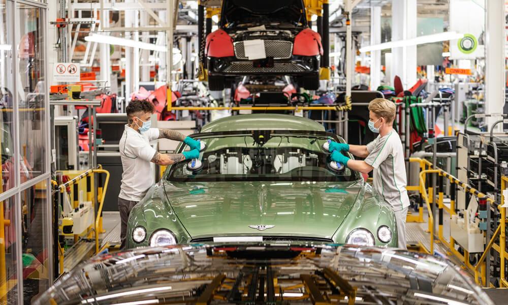 Bentley Motors Factory