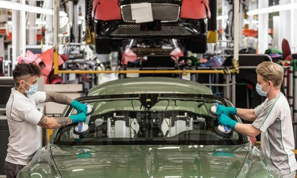 Bentley Motors restart factory production after covid-19 closures