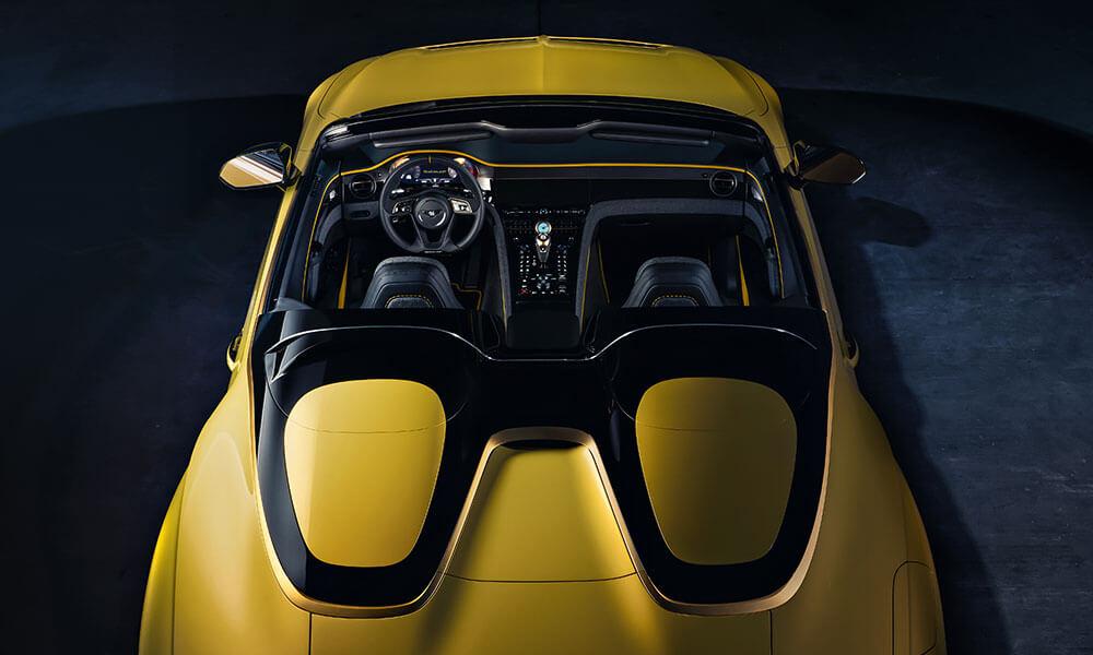 Bentley Mulliner Bacalar two seater open top grand tourer