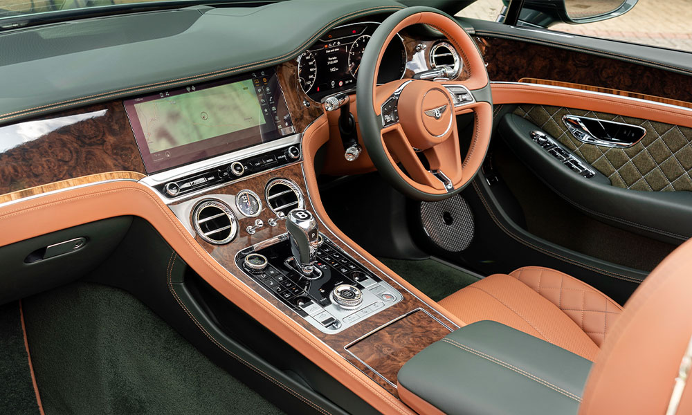 Bentley Mulliner Continental GT Convertible Equestrian Edition interior