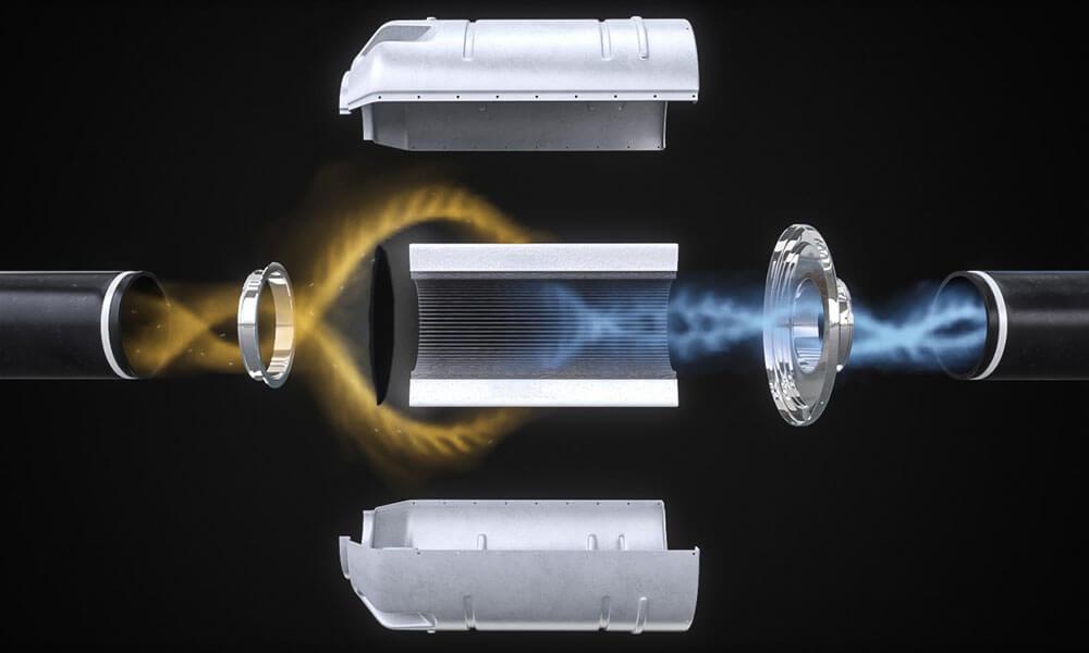 Bombardier Global 5500 Pur Air HEPA filter detail