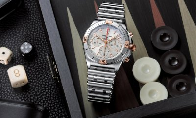 Breitling Chronomat B01 42 Two Tone Silver & 18K Red Gold Featured