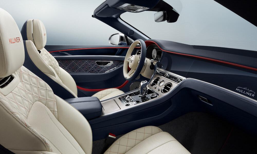 Interior details of the Continental GT Mulliner Edition. Credit: Bentley Motors