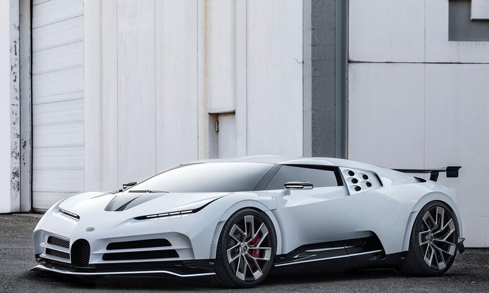 Bugatti Centodieci Front Left View Outside