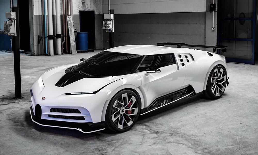 Bugatti Centodieci Front Left View