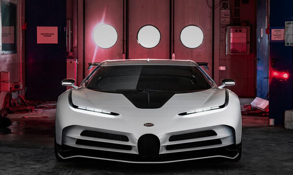 Bugatti Centodieci Front View