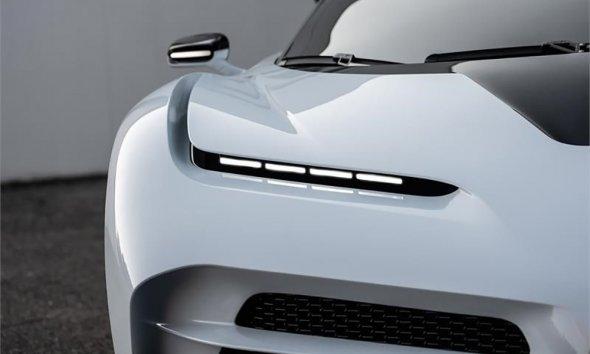 Bugatti Centodieci Headlight