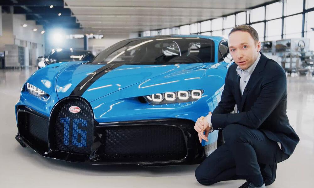Frank Heyl - Bugatti Deputy Design Director. Credit: Bugatti