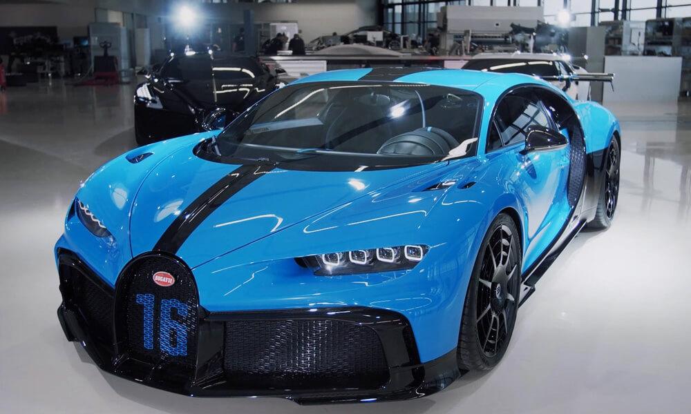The New Bugatti Chiron Pur Sport. Credit: Bugatti