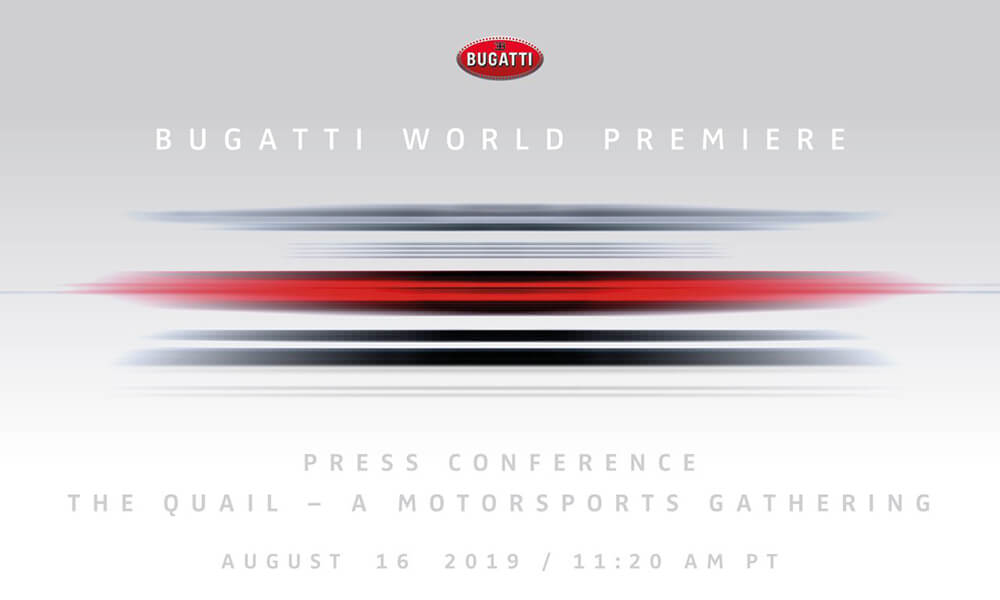 Bugatti EB110 Centodieci Press Conference Time