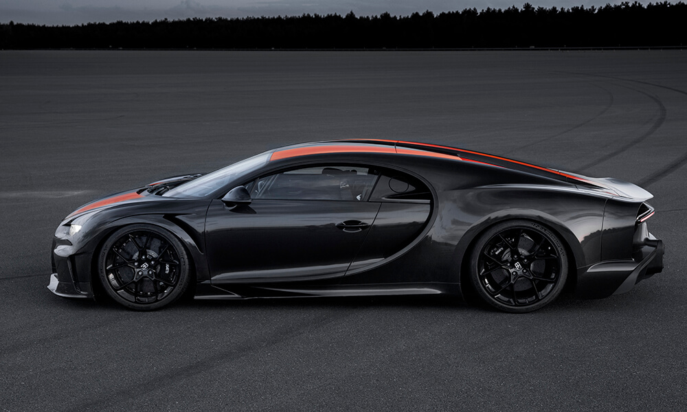 Bugatti prototype a Chiron derivative sets new world record