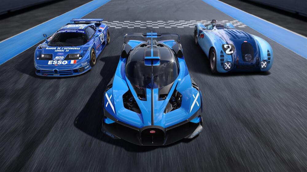 Continuing Bugatti's track racing legacy. Credit: Bugatti