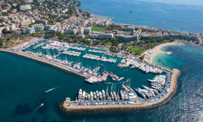 Cannes Yachting Aerial View