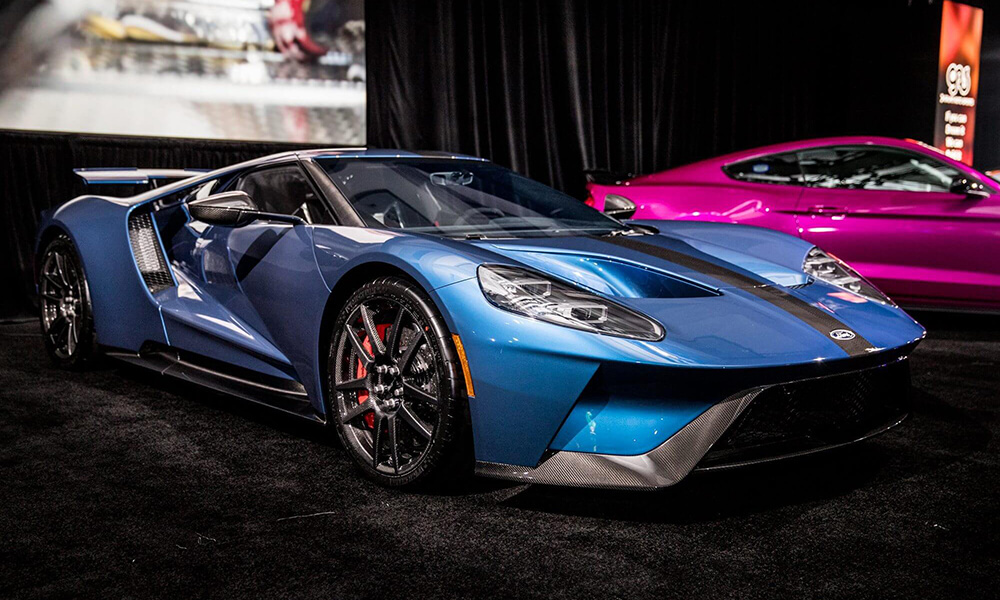 Cars at the LA Auto Show