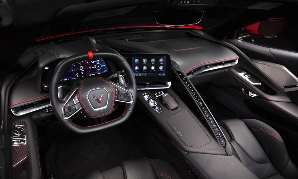 2020 Chevrolet C8 Corvette Stingray Coupe Interior