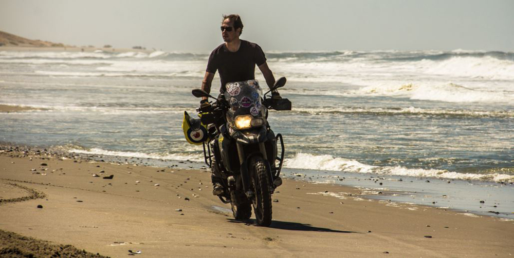 Chris Cecil-Wright Motorbiking