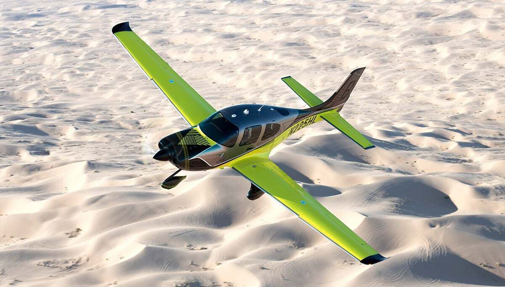 The 1-of-8 Cirrus Aircraft 8000 Limited Edition SR Series. Credit: Cirrus Aircraft