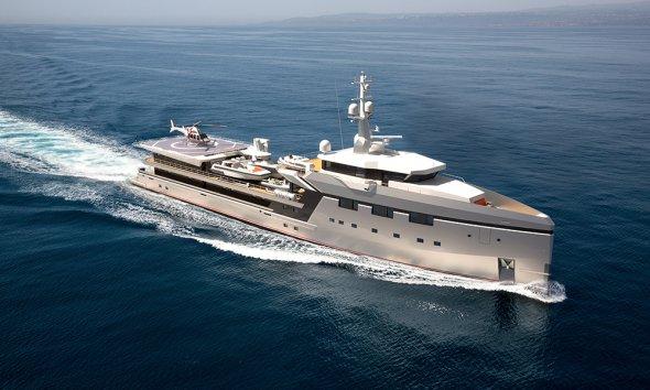 Damen Yacht Support 75 meter 7512 - YS7512