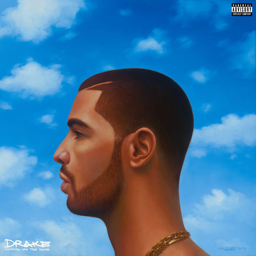 Drake's Nothing Was The Same album cover illustration