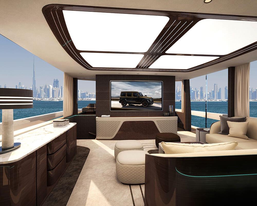 Dynamiq Yachts GTM 90 Saloon