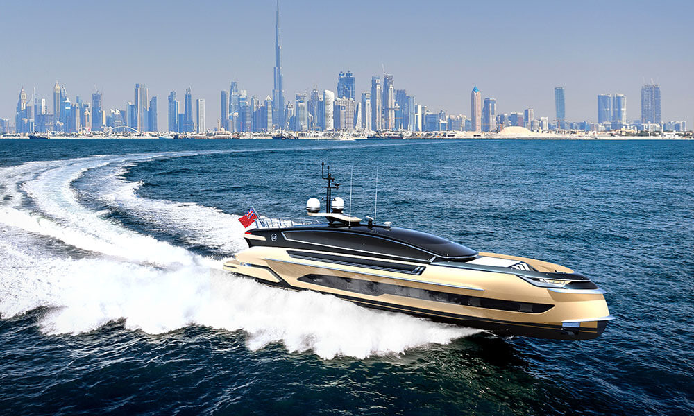 Dynamiq Yachts GTM 90 in collaboration with Klassen