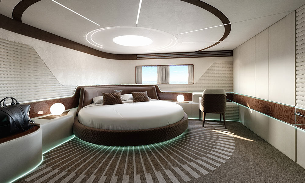 Dynamiq Yachts GTM 90 owner's cabin