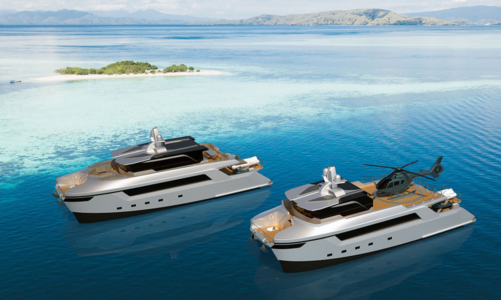 Echo-Yachts-27m-catamaran-motoryacht-and-shadow-vessel