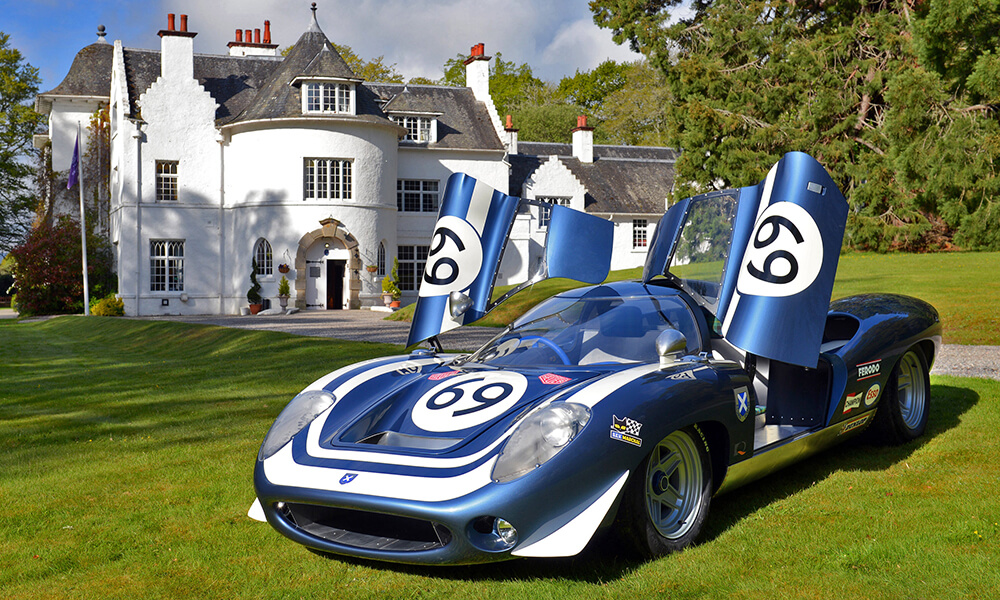 Ecurie Ecosse LM69 at an estate